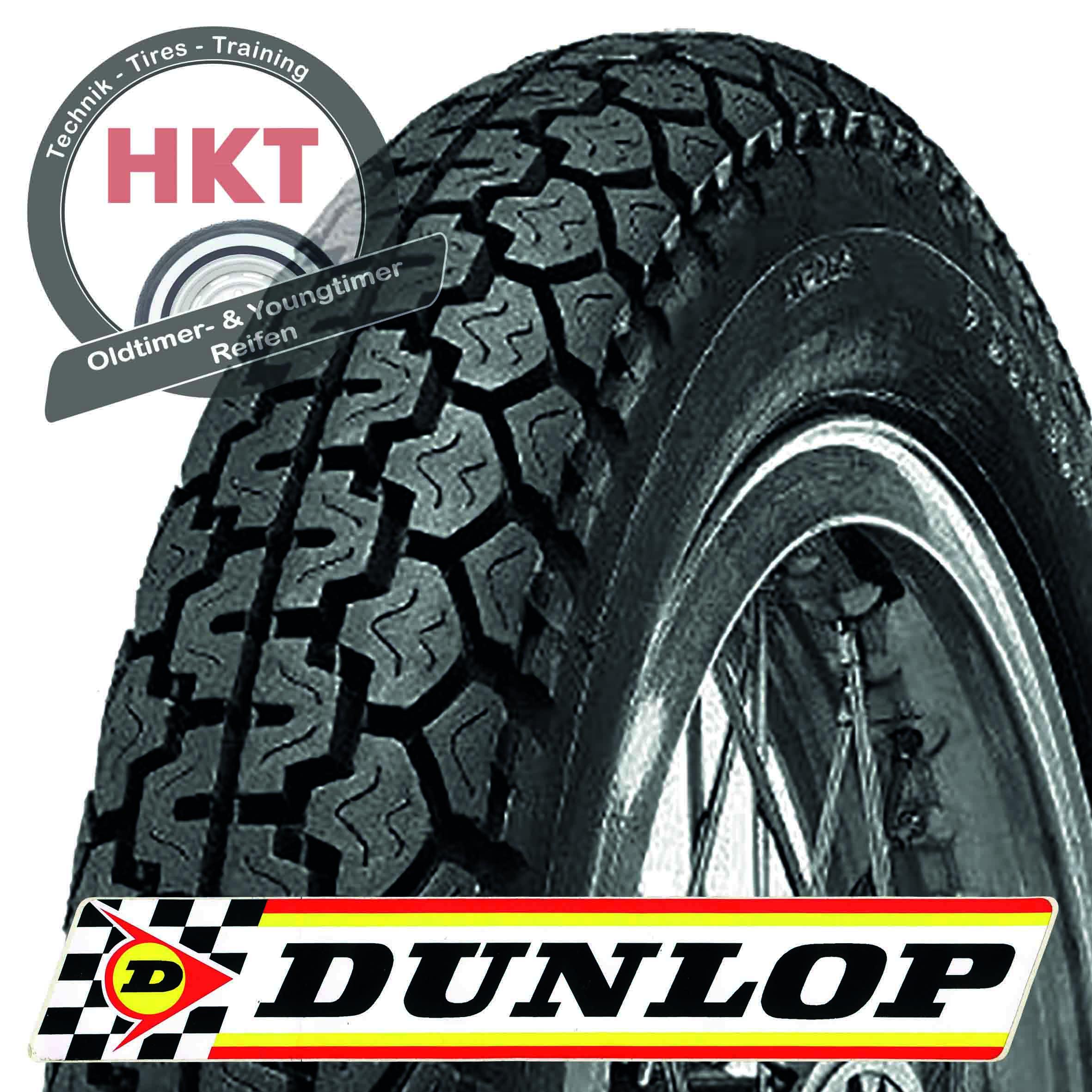 3.25-19 54P TT Dunlop K70
