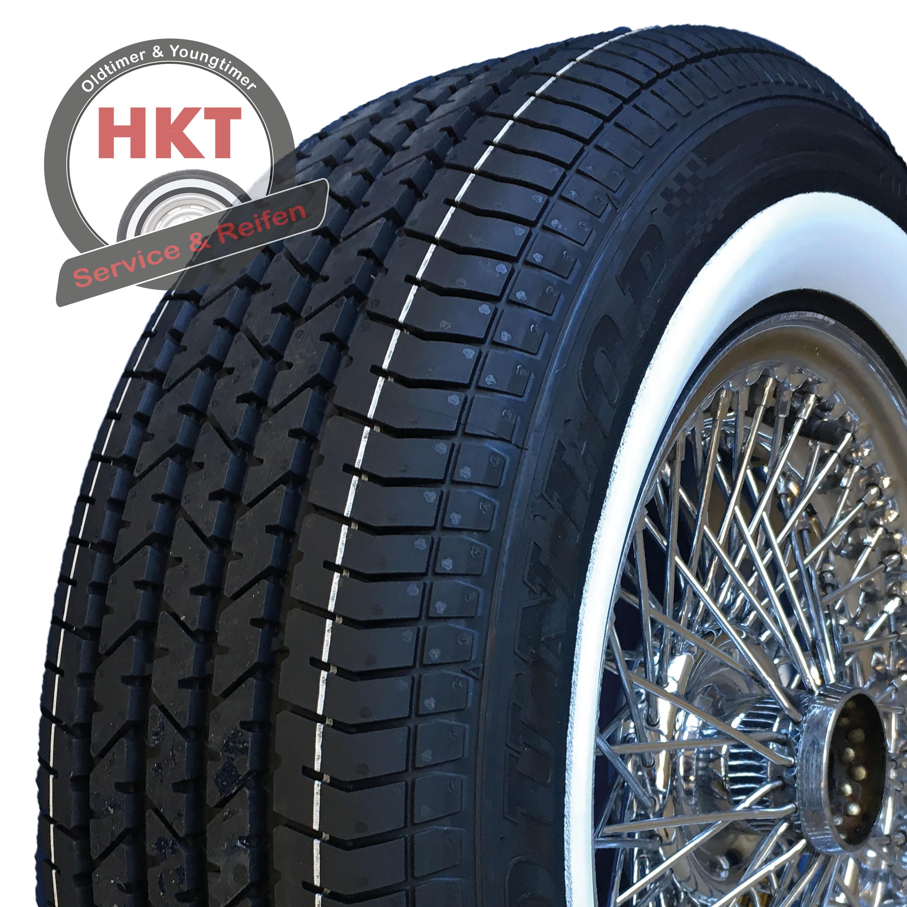 185/80R15 93W TL Dunlop Sport Classic ca. 40 mm Weißwand